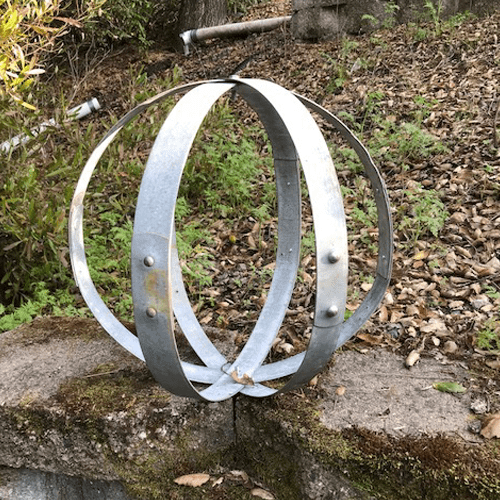 Wine Barrel Globe