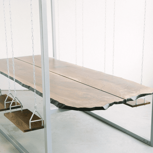 Four Seat Swing Table