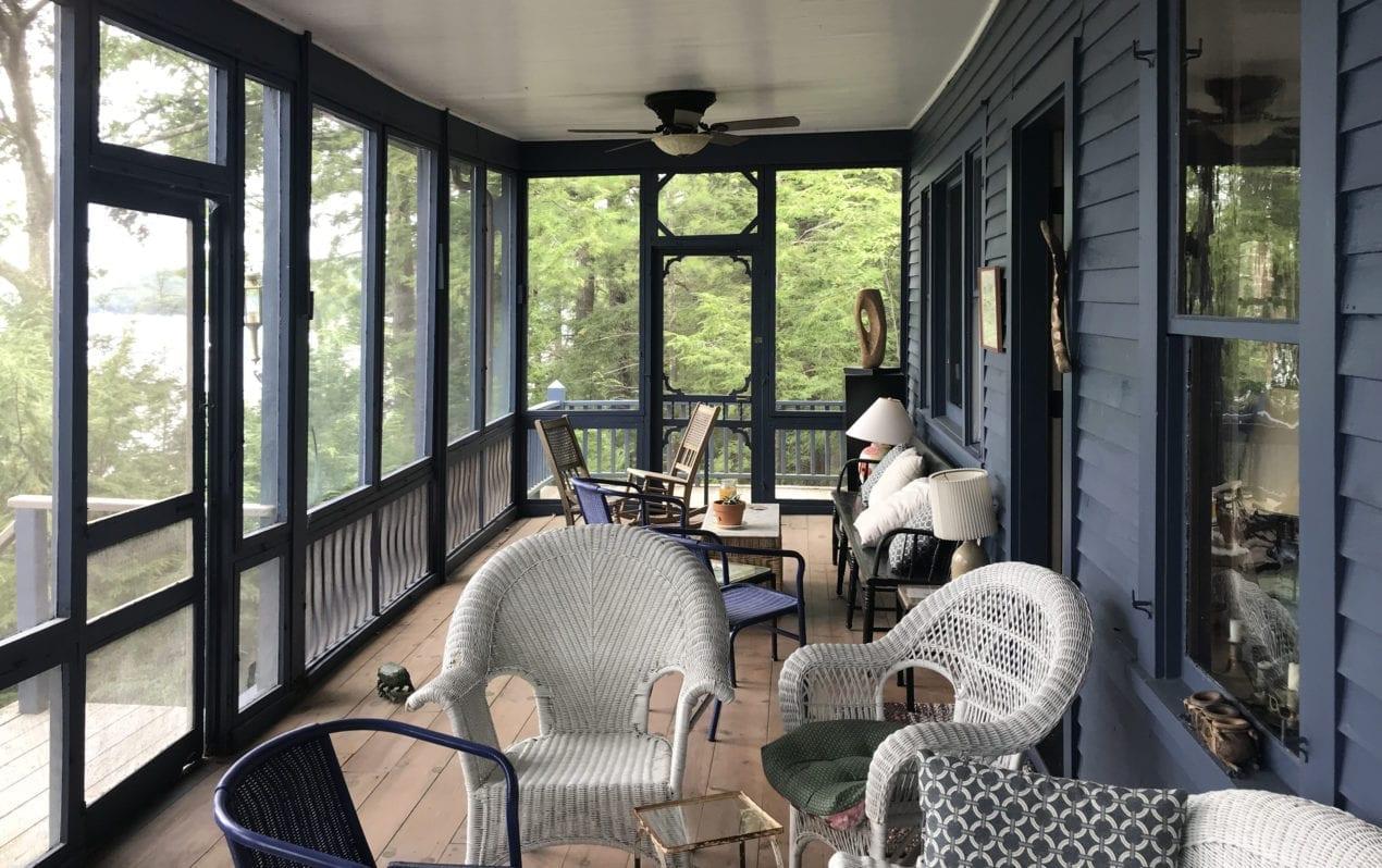 Black Trim On Screen Porch Screen Porch Living