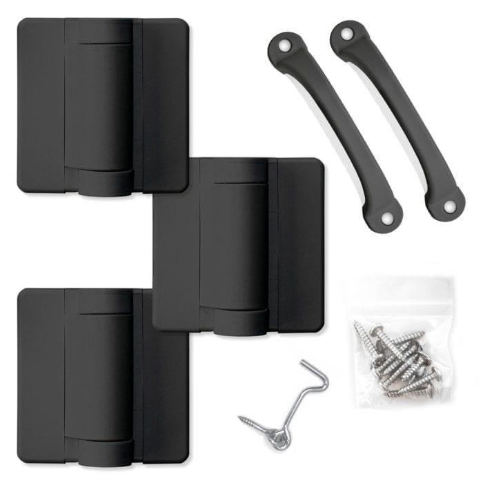 Black Screen Door Hardware
