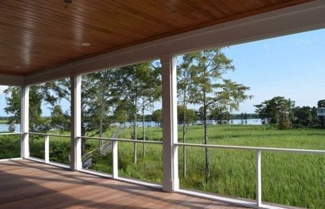 screen porch systems. MeshGuard Infill Screen Porch Systems