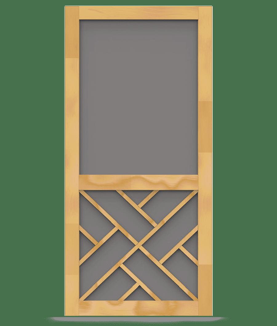 Chippendale screen door