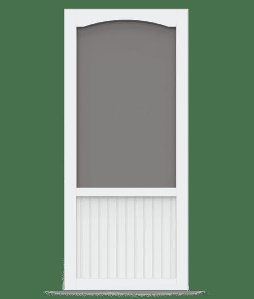 Chesapeake Vinyl Screen Door With Pet Door Screen Porch Living