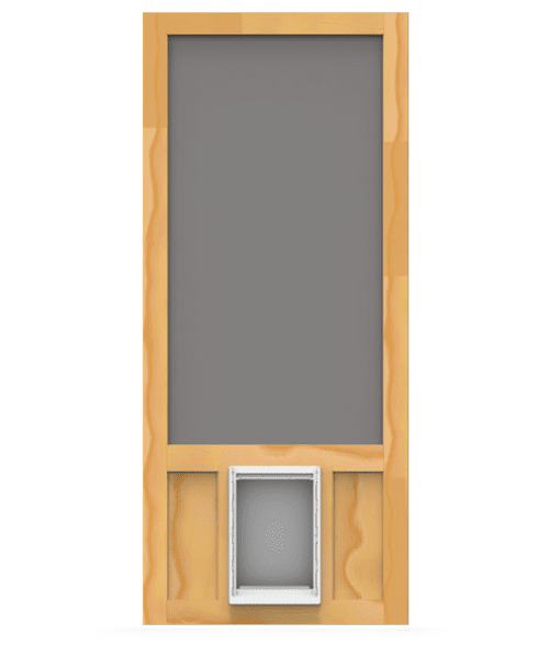 Chesapeake Screen Door with Pet Door