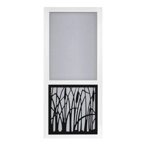 Cattail Screen Door