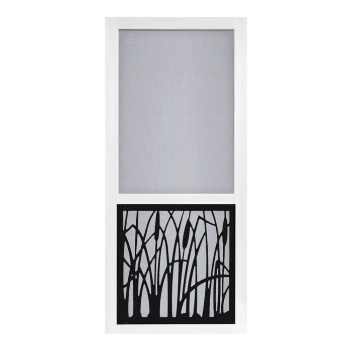 Cattail Screen Door